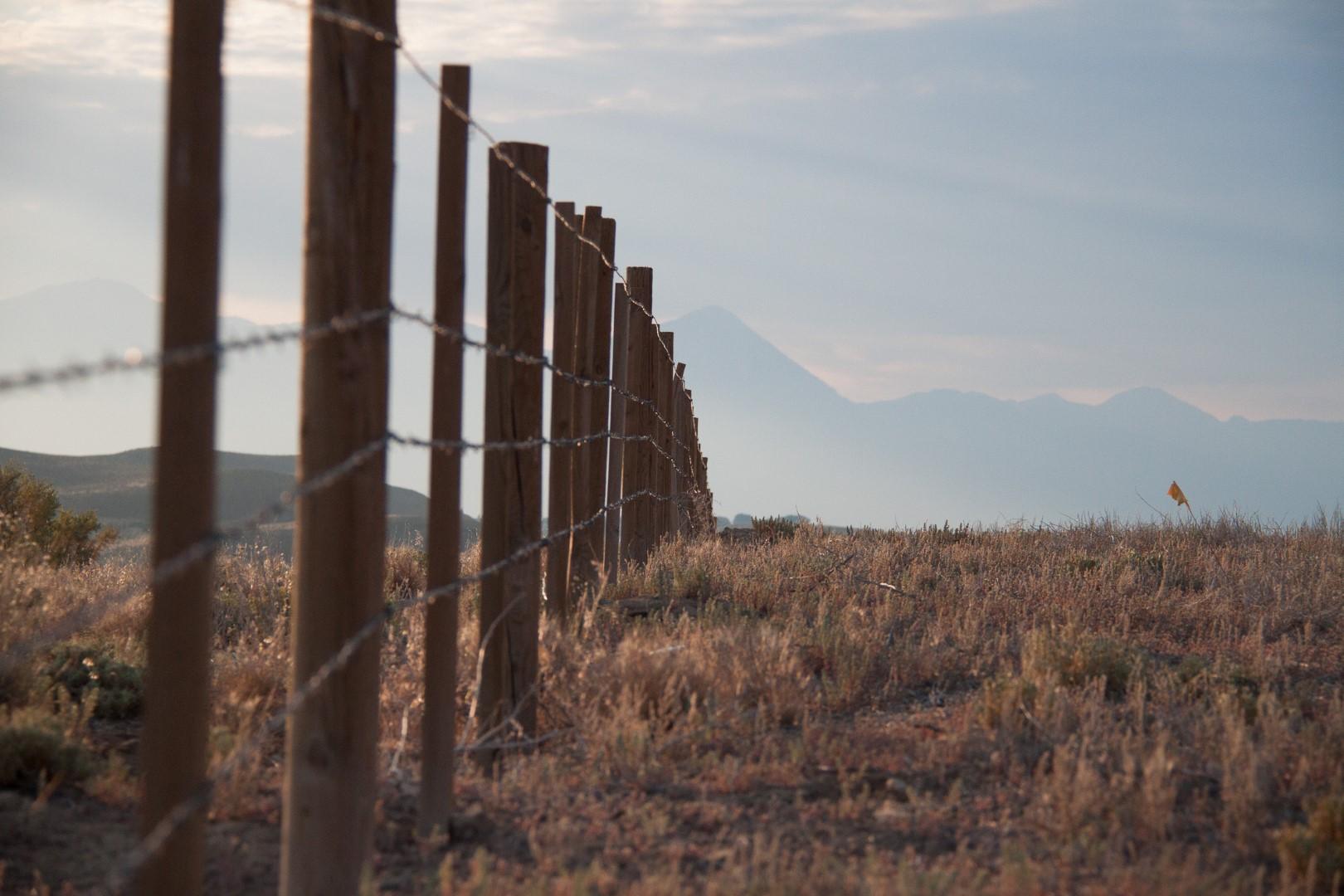 highway fence western